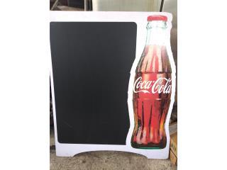 Letrero de coca cola para restaurante, Puerto Rico
