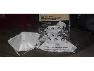 Caja 20 Mascarillas Respiradores N95 Certificadas, Puerto Rico