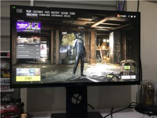 Monitor gamer $250, Puerto Rico