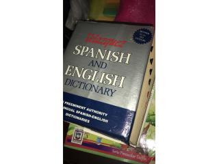 Dictionary Spanish and English , Puerto Rico