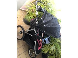 Coche baby Trend De niña carseat y base poco uso , Puerto Rico