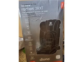 Car seat Diono 3rxt (desde bebe 5 hasta 120 lb), Puerto Rico