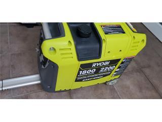 Generador Ryobi 2200 inverter, Puerto Rico