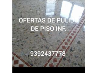 Oferta,de pulido de piso, Puerto Rico