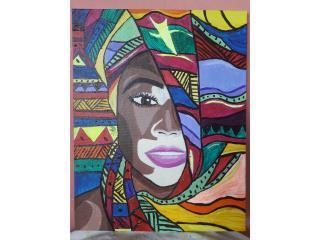Pinturas en acrilico, Puerto Rico