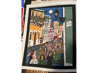Cartel de las Fiesta de la Calle San Sebastián 35 , Puerto Rico