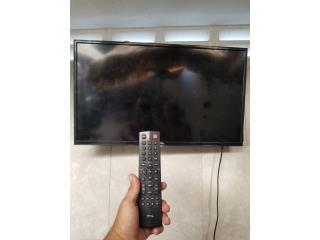 Televisión marca TLC de 32 pulgadas para la venta, Puerto Rico