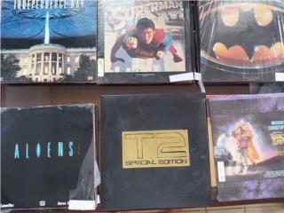 Coleccion de peliculas en discos laser, Puerto Rico