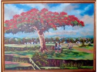 Pintura tipica de Puerto Rico, Puerto Rico