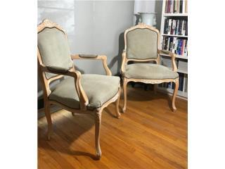 Set de sillas victorianas , Puerto Rico