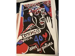Domingo Garcia / 40 años de Pintora, Puerto Rico