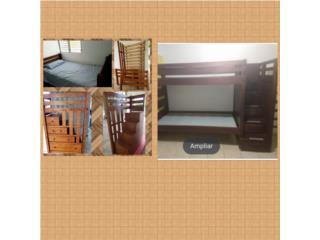 Se vende literas twin y se convierten en dos camas, Puerto Rico