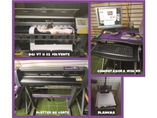 Plotter de impresión solvente, Puerto Rico