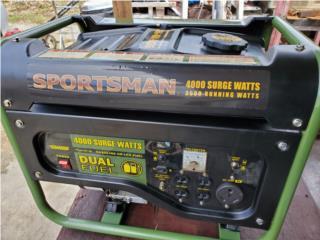 Generador sportsman 4,000 en $200 omo, Puerto Rico
