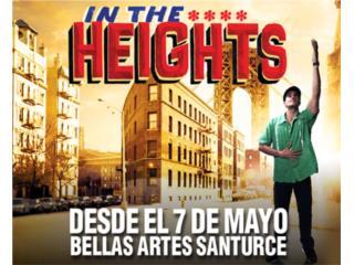 IN THE HEIGHTS 2 BOLETOS, Puerto Rico