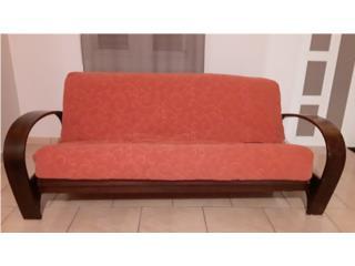 Futon con mattress de alta calidad, Puerto Rico