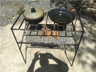 Grill, BBQ, Fogon, Puerto Rico