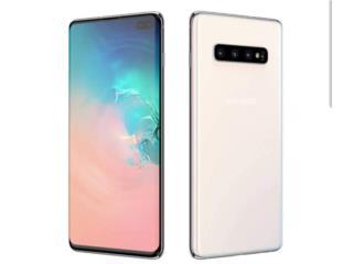 Teléfono Samsung Galaxy S10 plus blanco, Puerto Rico