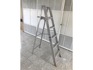 Escalera aluminio 6 pies, Puerto Rico