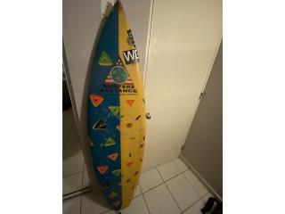 Tabla de surfistas y long board, Puerto Rico