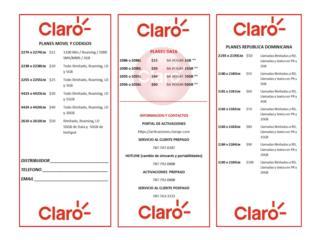 Puerto Rico Chips Claro PR 4G LTE Sim Cards Por Correo!