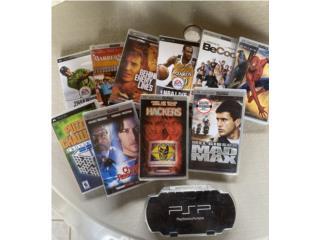Variedad de juegos PSP, Puerto Rico