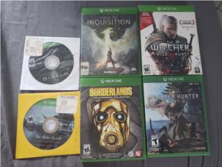 Juegos de Xbox One 20$ c/u, Puerto Rico