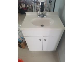 Mueble de baño con pluma, Puerto Rico