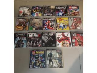 Juegos del Playstation 3, Puerto Rico