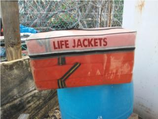 salvavidas para botes, Puerto Rico