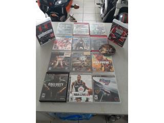 Lote de juegos PS3, Puerto Rico