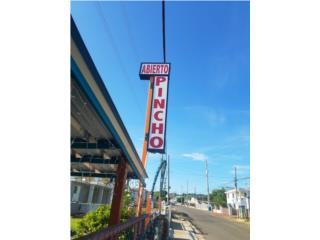 Rotulo de pincho, Puerto Rico