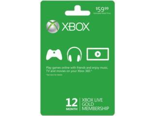Xbox Live 12 Month Subscription, Puerto Rico