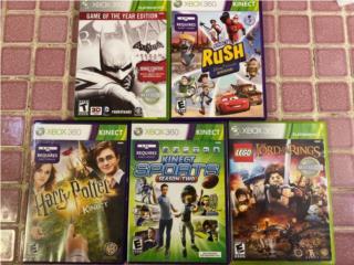 Juegos de Xbox 360 y Kinect, Puerto Rico
