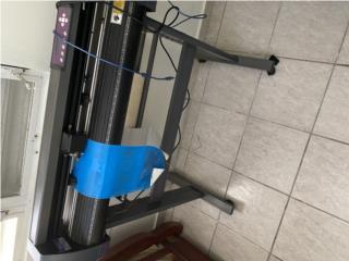 Maquina de cortar vinil con Plancha para camisas., Puerto Rico