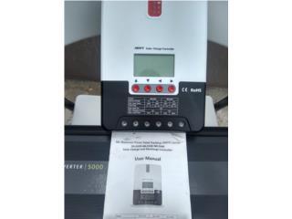 Inverter 5000watts y controlador poco uso, Puerto Rico