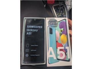 Galaxy A51 Desbloqueado 128gb NUEVO NUEVO!!!, Puerto Rico