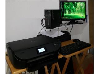 Computadora de escritorio ACER, Monitor, Impresora, Puerto Rico