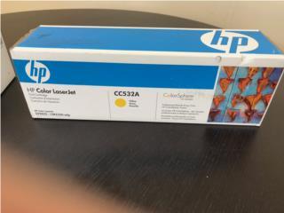 TONER HP CC532A Amarillo - Original HP Nuevo, Puerto Rico