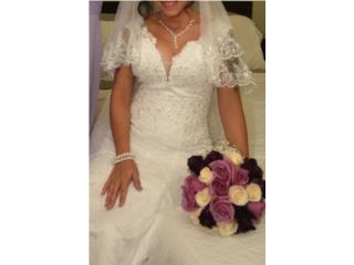 Traje de novia, nuevo en el paquete. , Puerto Rico