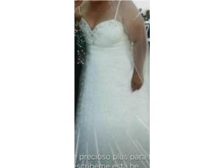 Se vende hermoso traje de novia plus, Puerto Rico