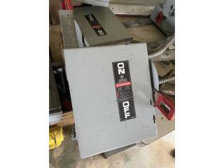 Cajas  eléctricas 3 Ph (machete ), Puerto Rico