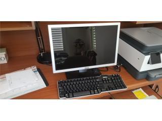 Monitor y teclado DELL, Puerto Rico