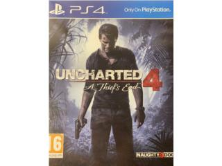 Uncharted 4 PS4 Game, Puerto Rico