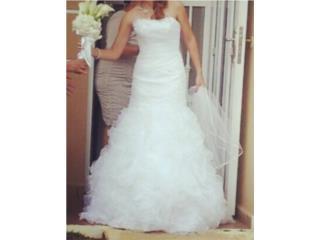 Vestido Nuevo de Novia Davids Bridal, Puerto Rico