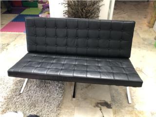 Mueble en leather negro, Puerto Rico
