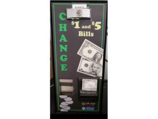 Máquina cambia monedas , Puerto Rico