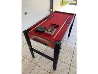 Mesa de juegos con Billar. , Puerto Rico