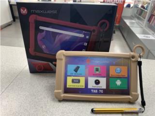 Tablet Maxwest 7'' 16GB (Nuevo), Puerto Rico