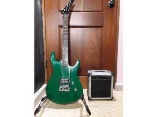 Combo Guitarra electrica y amplificador, Puerto Rico